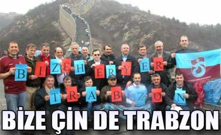 Bize Çin De Trabzon – cin seddi