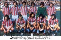 TRABZONSPOR 1975 – 76 KADROSU … İlk Şampiyon , Kupa Finalisti , Başbakanlık Kupası , C.Başkanlığı Kupası