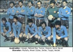 TRABZONSPOR 1978 – 79 KADROSU … Şampiyon , C.Başkanlığı Kupası