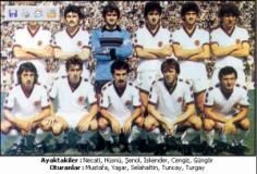 TRABZONSPOR 1979 – 80 KADROSU … Şampiyon , C.Başkanlığı Kupası