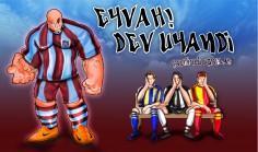 Eyvah Dev Uyandi !!! Olimpiyat stadindan goruntuler. I.B.B 1 TS 3