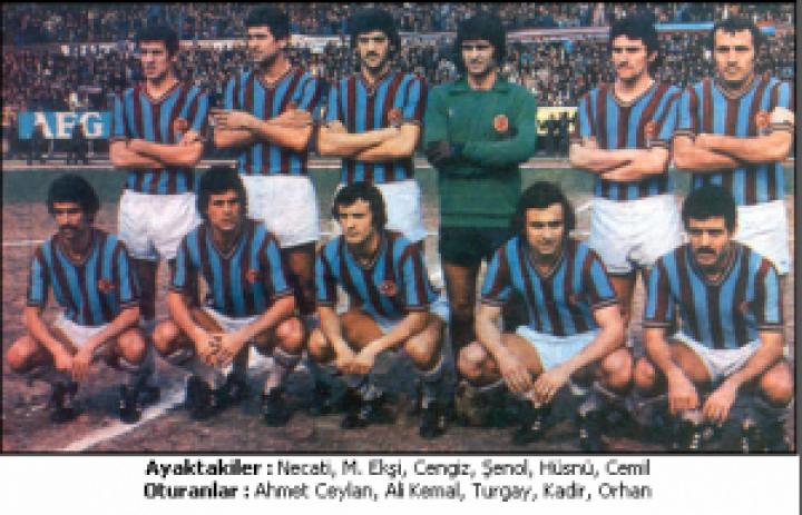 TRABZONSPOR 1977 – 78 KADROSU … Lig İkincisi , Türkiye Kupası , Başbakanlık Kupası , C.Başkanlığı Kupası