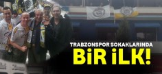 Lokerenli taraftarlar Trabzon'u bastı