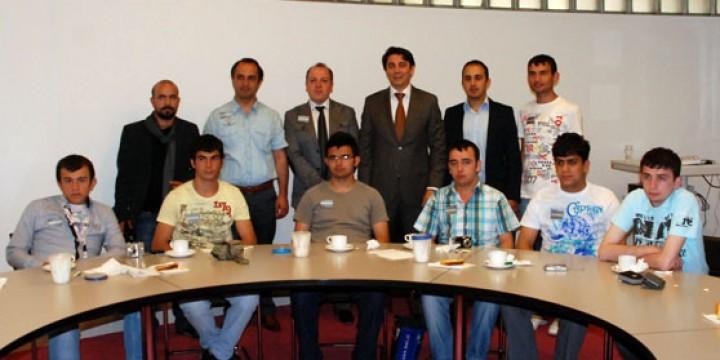 Trabzon Çamlık Özel Eğitim Meslek Lisesi Hollanda'da temaslarda bulundu